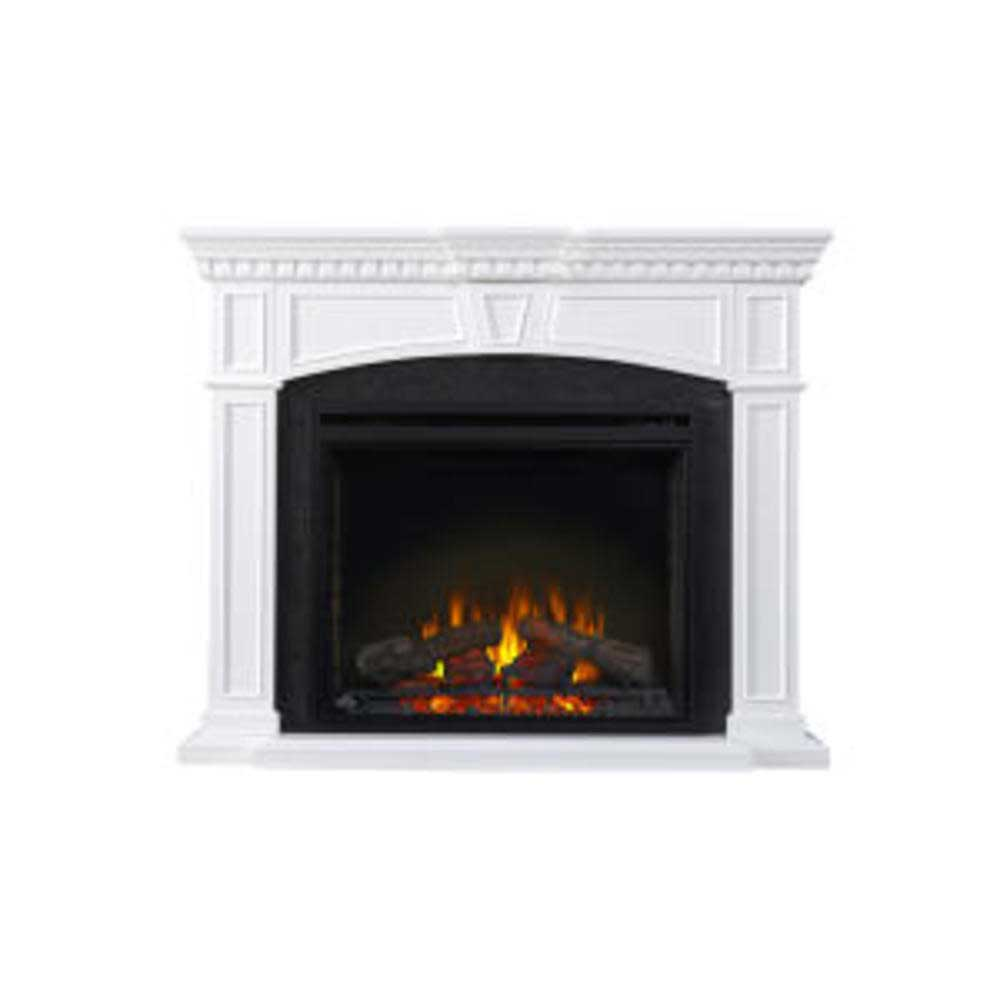 The Taylor Electric Fireplace Mantel Package