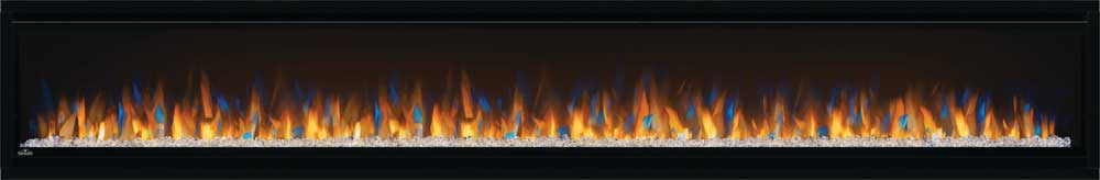 Alluravision™ 100 Deep Depth Electric Fireplace