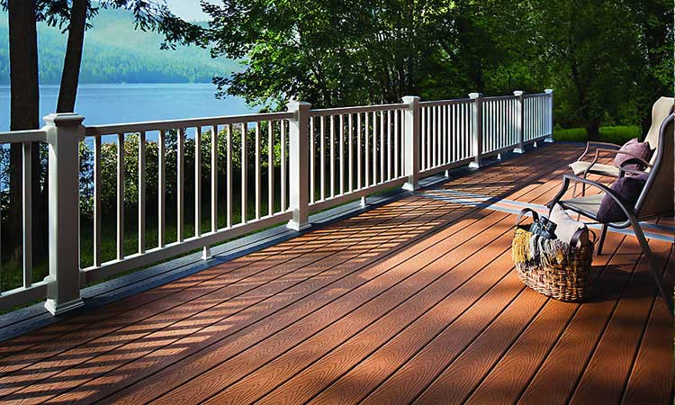 Trek Composite Decking