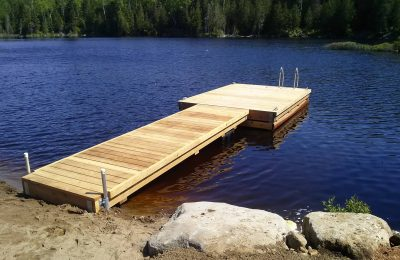 Semi-Floating Dock