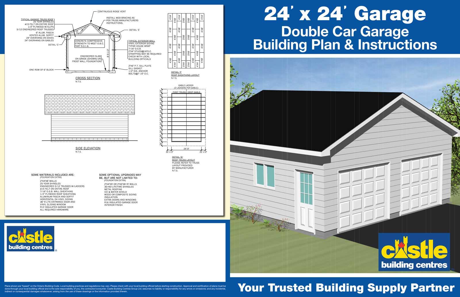 Garage Packages Pat Noble Lumber Building Supplies